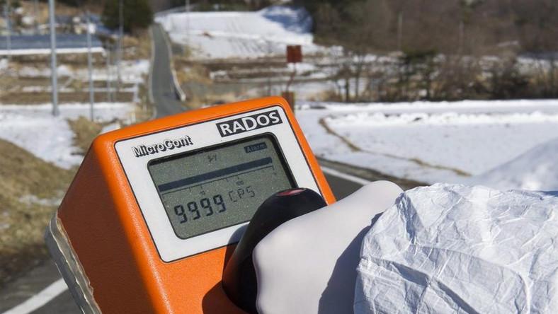 Ekstremalnie wysokie promieniowanie w Fukushimie