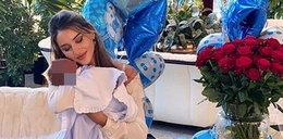 Polski miliarder został ojcem. Młodsza o blisko 50 lat partnerka pokazała zdjęcie dziecka