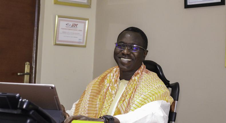 Serigne Ndanck Mbaye, CEO of DHL Global Forwarding West Africa and Country Head for Ghana