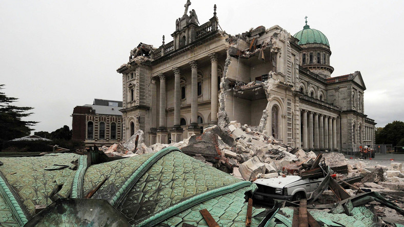 Po trzęsieniu ziemi w Christchurch