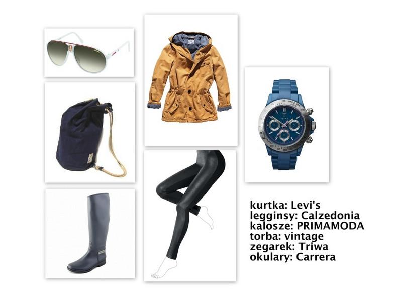 """Modne zestawy w stylu """"London look"""" na zimę 2012"""