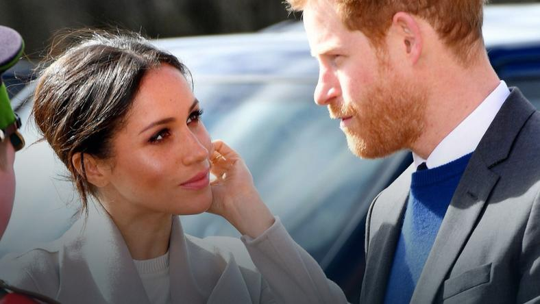 Kaiążę Harry i Meghan Markle