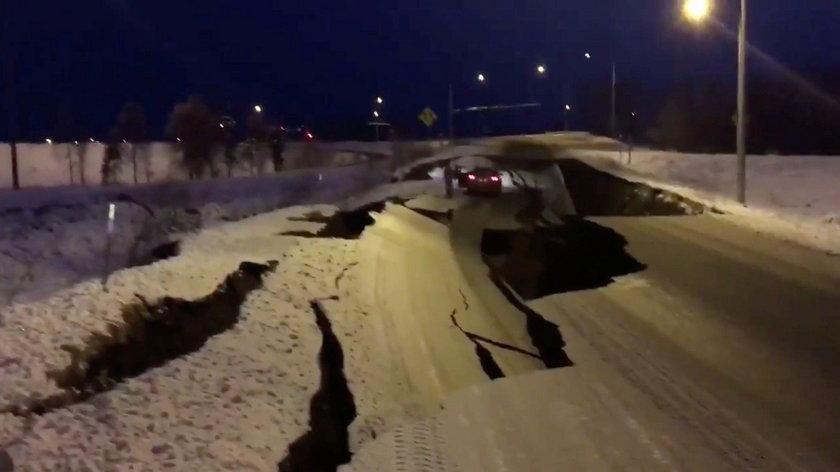 Trzęsienie ziemi w Alasce