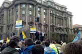 Protest radnika pošte Vlada