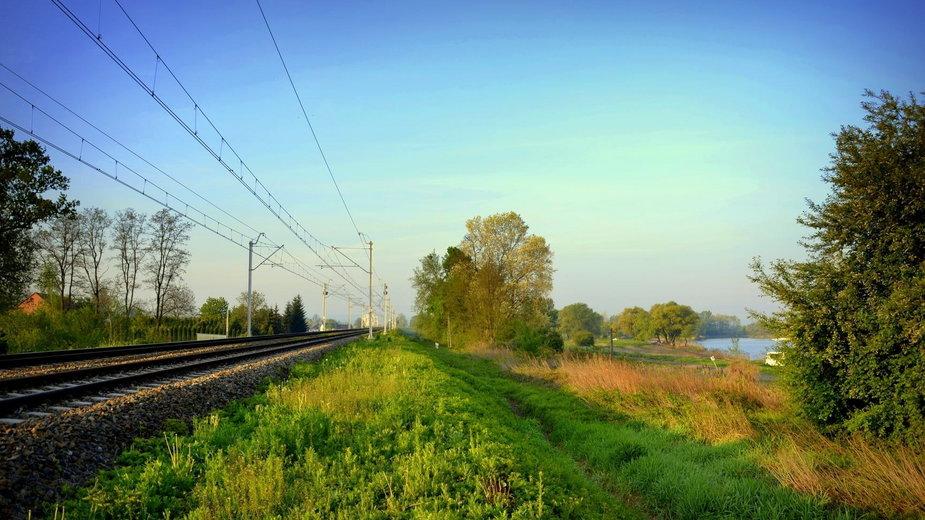 Planowany przystanek kolejowy w Przylasku Rusieckim