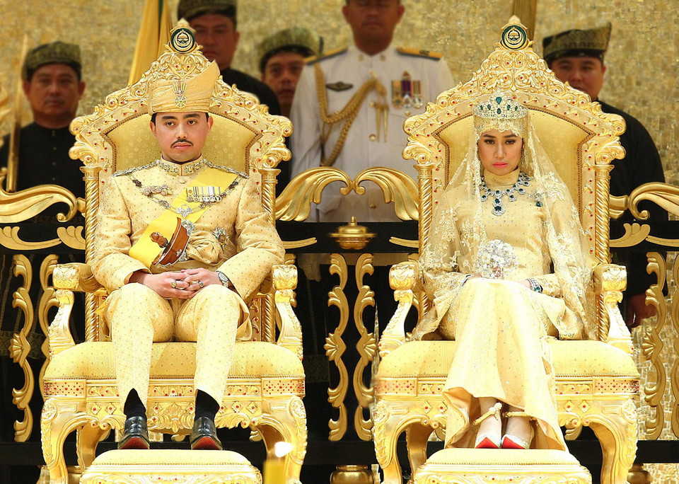 BRUNEI ROYAL WEDDING (Youngest son of Sultan of Brunei marries)