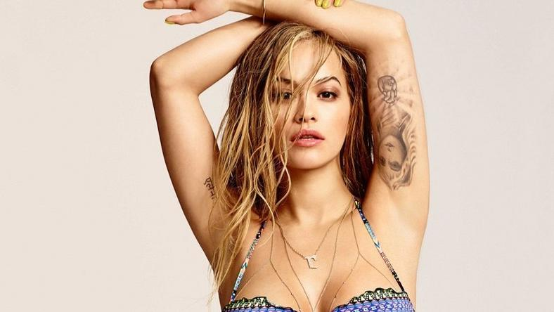 Rita Ora for Tezenis Spring/Summer 2016 swimsuit campaign
