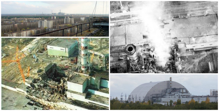Černobilj kolaž