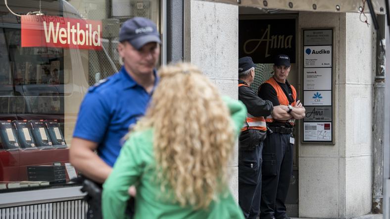 W ataku zostało rannych pięć osób