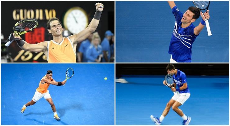 Novak Đoković, Rafel Nadal