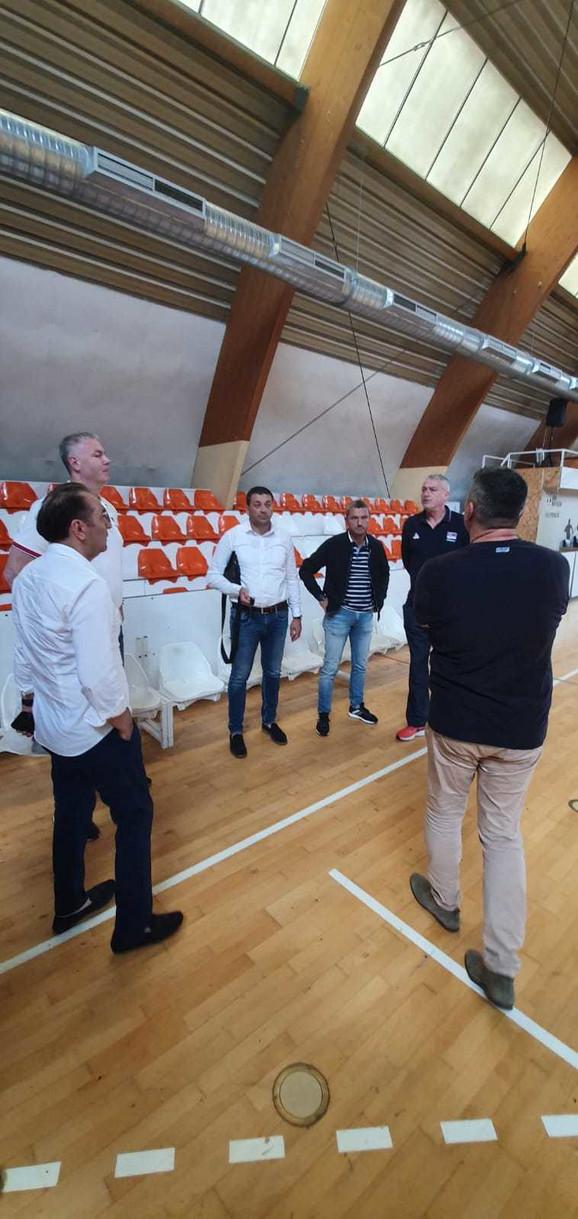 Danilović i Tomašević u razgovoru sa Ljajićem i delegacijom OKK Novi Pazar