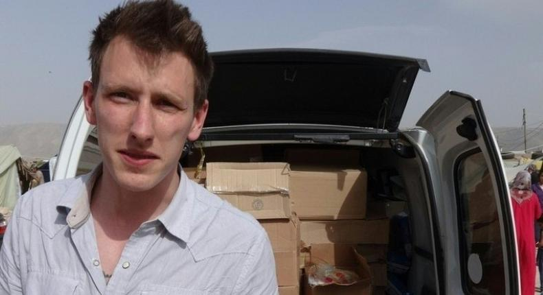 Peter Kassig, pictured here in a photo shared by his family, foundeda humanitarian organisation in 2012 that trained some 150 civilians to provide medical aid to people in Syria