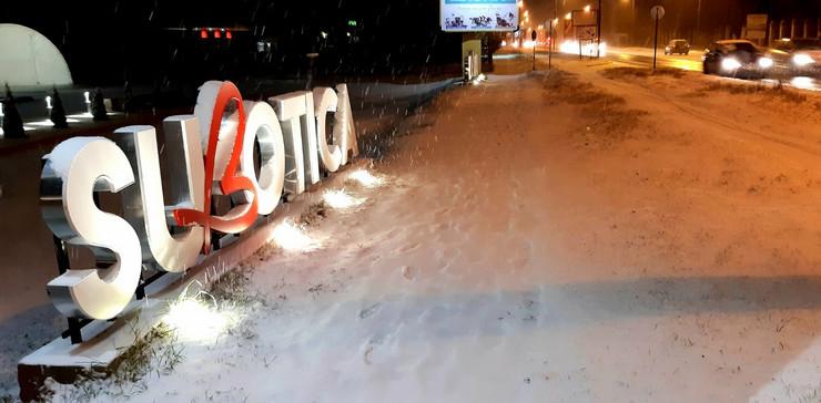 Subotica, sneg