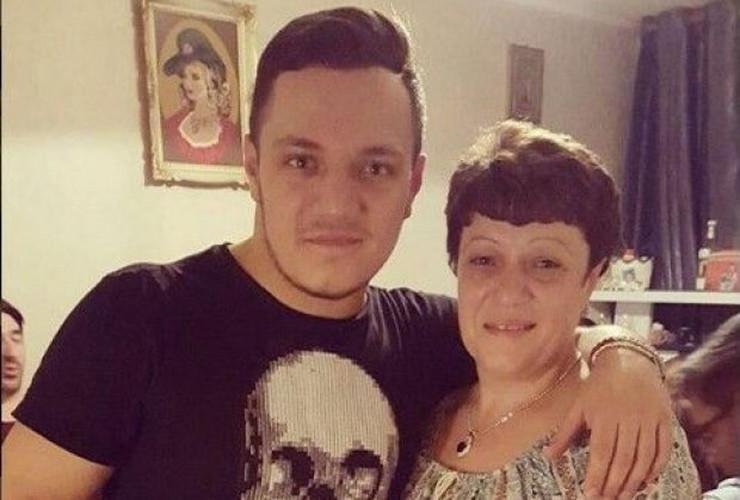 Nenad Marinković Gastoz sa majkom Gocom