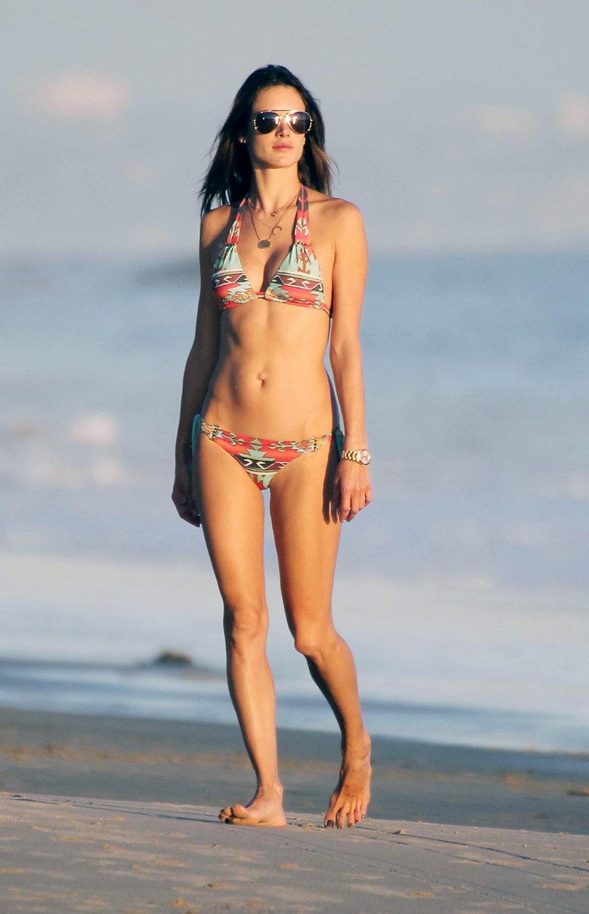 Alessandra Ambrosio zawsze wygląda jak milion dolarów