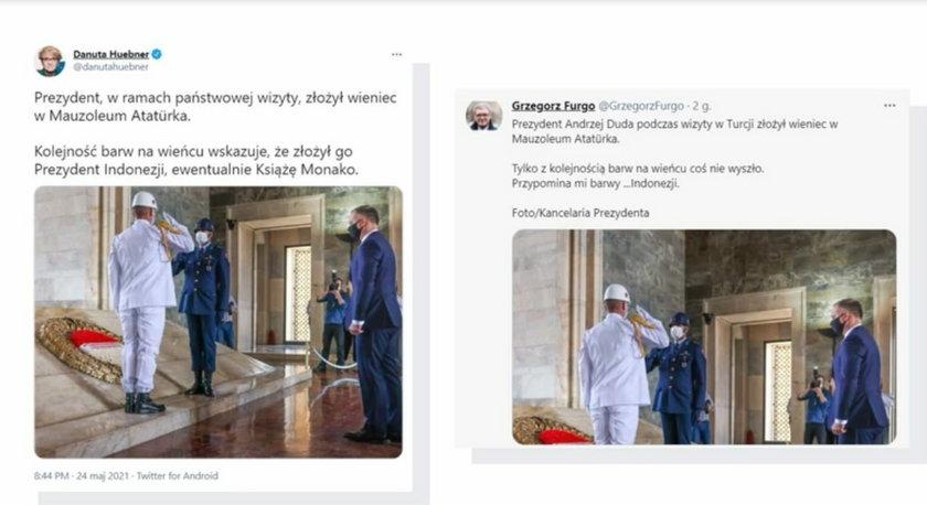 Wpadka prezydenta Andrzeja Dudy?