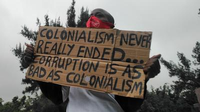 Corruption is as bad as colonialism, colonialism never really ended [Pulse Contributor's Opinion]