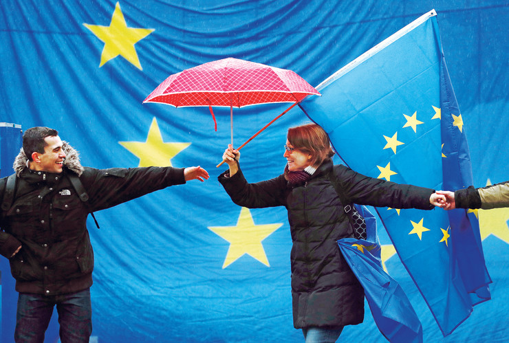 Evropska unija, pokrivalica, ilustracija