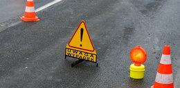 Wypadek na autostradzie A4. Płoną auta