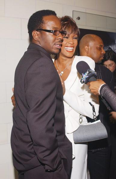 Whitney Houston i Bobby Brown (fot. Getty Images)