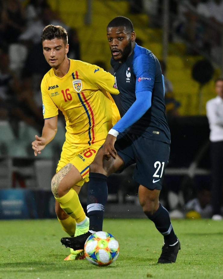 Mlada fudbalska reprezentacija Francuske, Rumunije