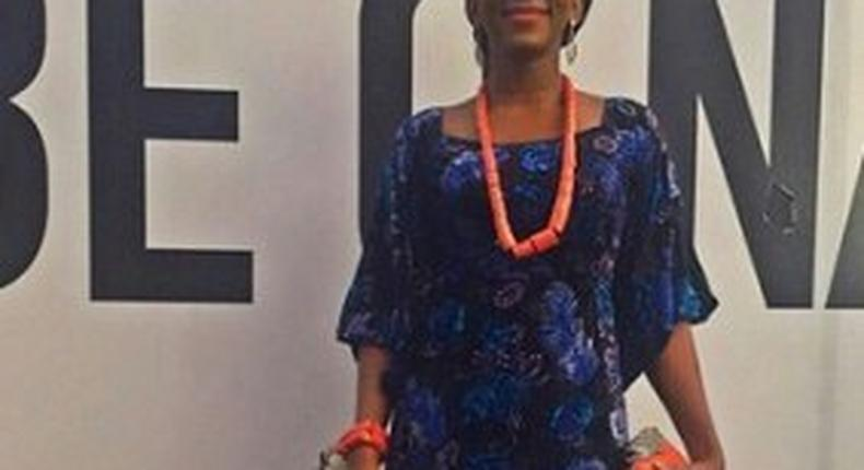 Genevieve Nnaji's look to the event