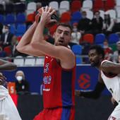 CSKA SUSPENDOVAO DŽEJMSA, pa se provukao protiv Albe u Evroligi uz dabl-dabl Milutinova