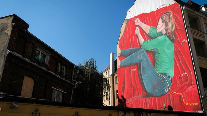 Mural Mauro Pallotta w Poznaniu