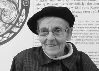 Zmarła Jadwiga Sienkiewicz, wnuczka Henryka Sienkiewicza