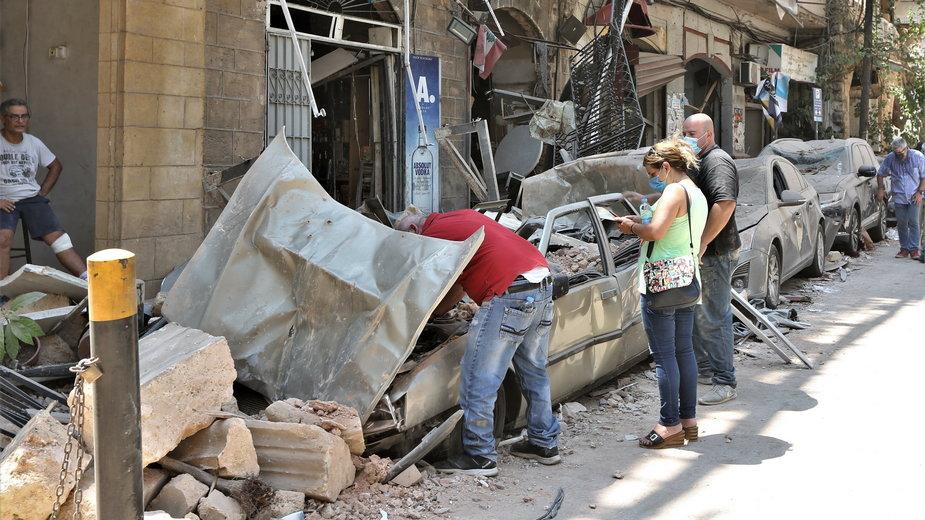Wybuch w Bejrucie. Liban: rośnie liczba ofiar po eksplozji