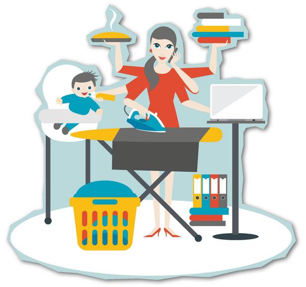 Dom, praca, szkoła – osoby samotnie wychowujące dzieci są w czasie pandemii zdane na siebie.