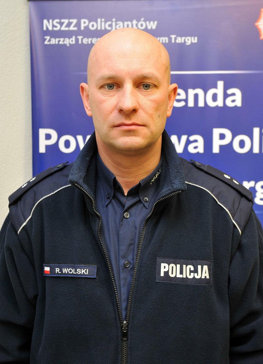 Roman Wolski, rzecznik policji w Nowym Targu