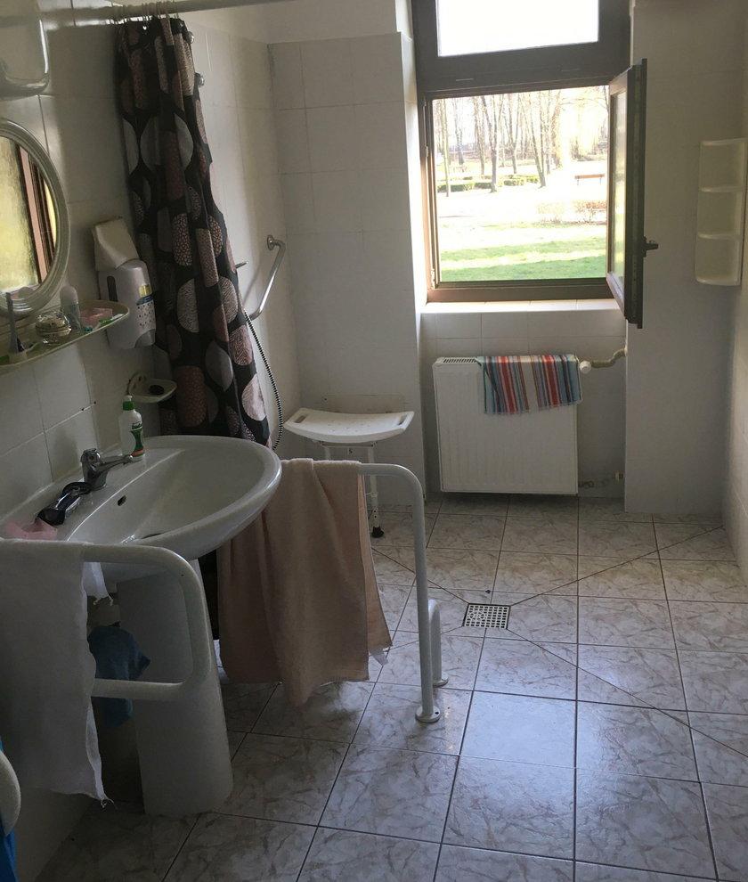 Pomieszczenia izolatorium w Goczałkowicach