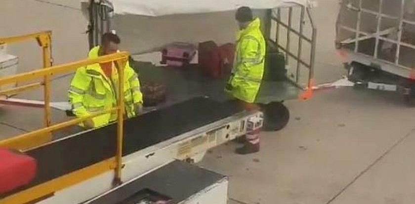 Tak traktują nasze bagaże na lotnisku. Szokujące wideo!