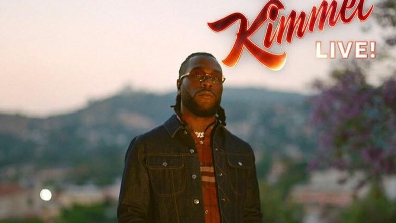 Burna Boy performs 'Anybody'on Jimmy Kimmel Live!