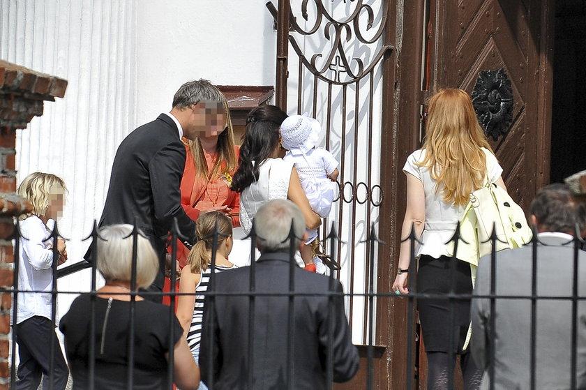 Justyna Steczkowska ochrzciła córkę