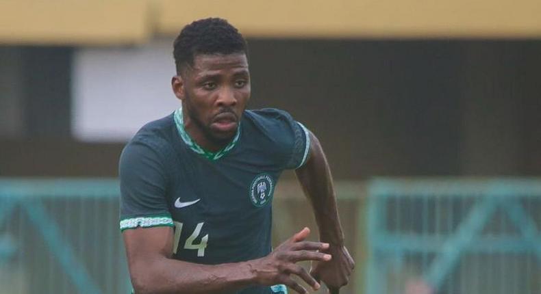 Kelechi Iheanacho is a doubt for Nigeria's next game (Instagram/Kelechi Iheanacho)