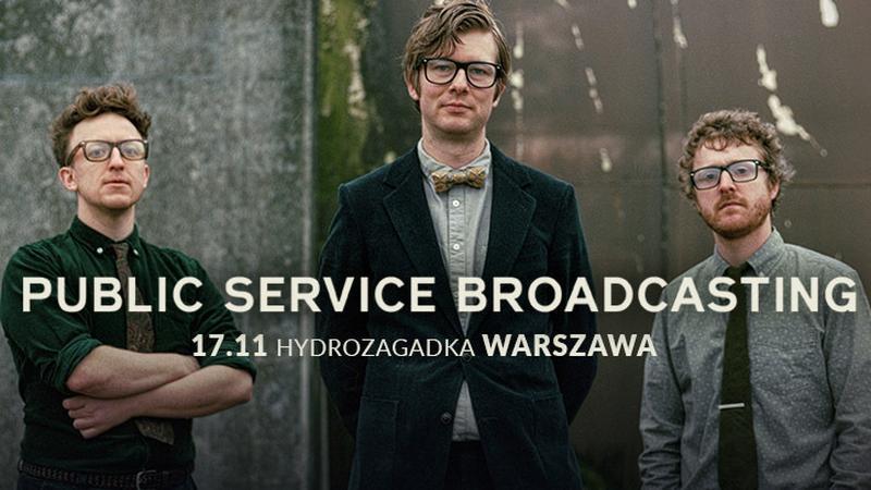Public Service Broadcasting w Polsce 2017 - plakat koncertowy