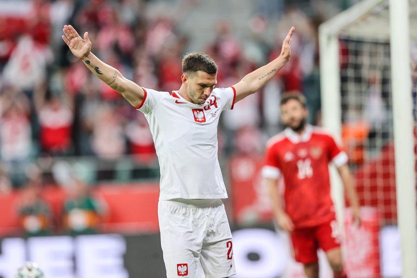 Jakub Świerczok (29 l.) strzelił gola w meczu z Rosją, ale raczej nie wystąpi na Euro obok naszego kapitana Roberta Lewandowskiego.