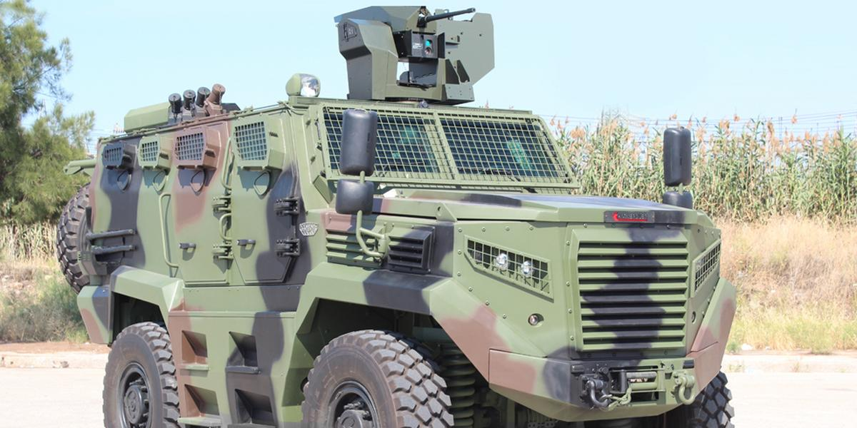Kenya becomes 3rd globally to get Hizir 4×4 tactical wheeled armored vehicles