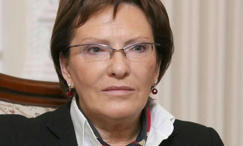 Ewa Kopacz: Płakałam w Moskwie