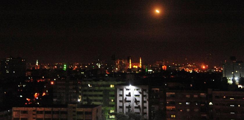 Atak rakietowy na międzynarodowe lotnisko w Damaszku