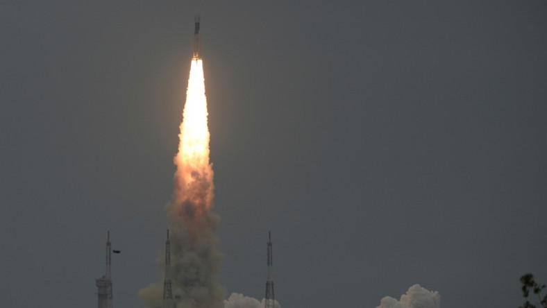 Chandrayaan 2, or Moon Chariot 2, lifted off from India's spaceport at Sriharikota in southern Andhra Pradesh state on July 22