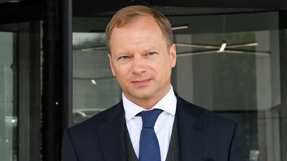 "Maciej Stuhr na planie filmu ""Napad"""