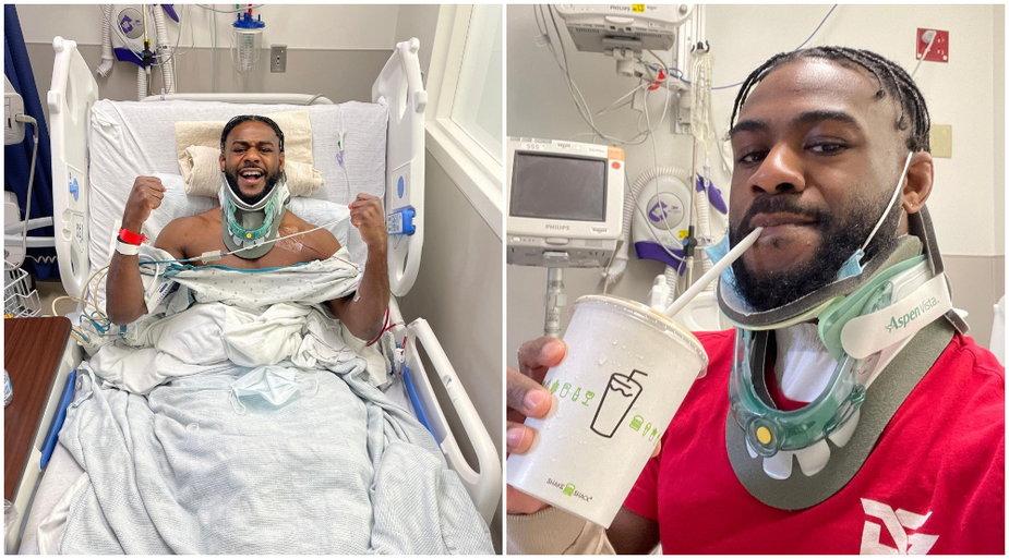 Aljamain Sterling już po operacji. Mistrz UFC w wadze koguciej zapowiada powrót do startów