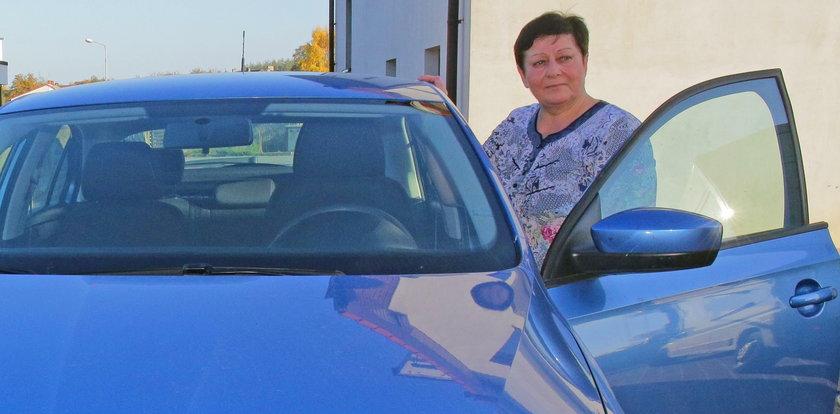 Pani Elżbieta dziękuje Faktowi: Dzięki wam odzyskałam auto
