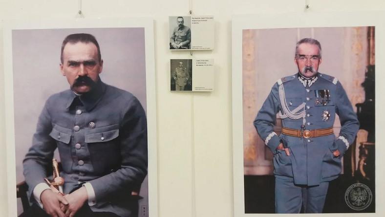 Na wystawie obejrzeć będzie można koloryzowane zdjęcia marszałka Józefa Piłsudskiego. Tuż obok umieszczono oryginalne, archiwalne fotografie tak, by można było porównać oba obrazy.