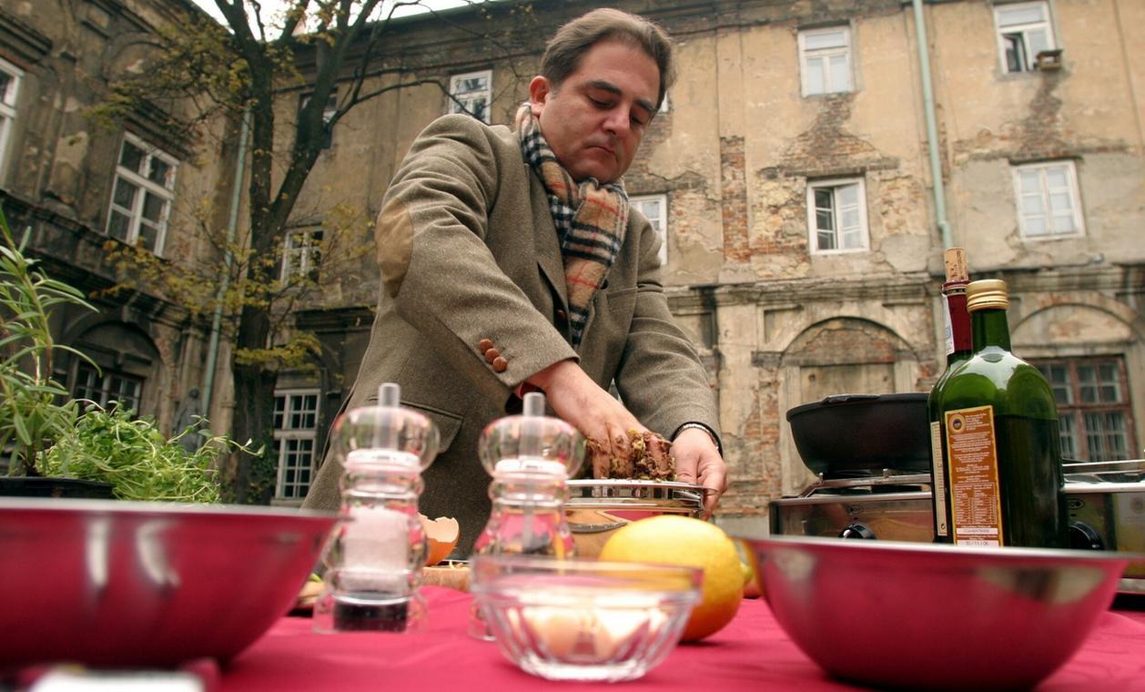 "2005 rok, plan programu ""Podróże kulinarne Roberta Maklowicza"""