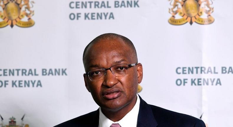 Governor of the Central Bank of Kenya, Patrick Njoroge, speaks September 26, 2018 during a press conference in Nairobi. (Photo by SIMON MAINA / AFP) (Photo by SIMON MAINA/AFP via Getty Images)