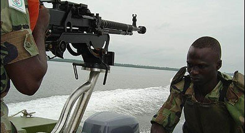 Navy destroys 8 illegal refineries, 300 tonnes of stolen crude in Brass